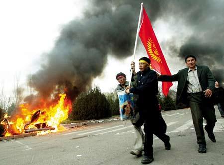 吉尔吉斯斯坦闪电革命中国商人财富被洗劫一空