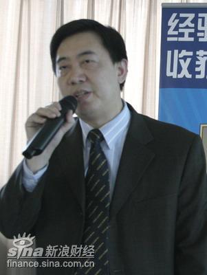 图文:北京读书人集团董事长汤小明