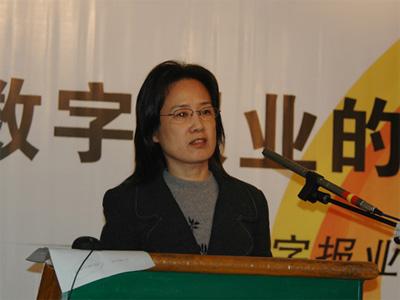 图文:深圳报业集团新媒体发展中心副主任孙琳娜