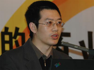 图文:重庆日报报业集团华龙网副总经理邓修明