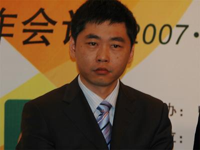 图文:北大方正电子有限公司副总裁郑伟