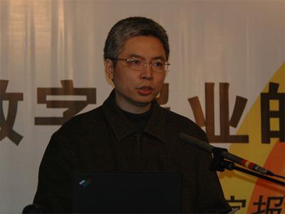 图文:广州金蟾软件研发中心有限公司总裁杨洪