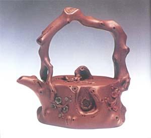 紫砂壶:厚实的协调