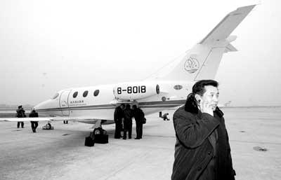 大陆第二架私人飞机试飞飞行成本每小时4000元