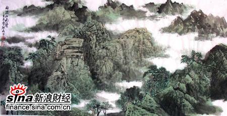 著名画家谭�晶简历(9)