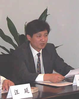 图文:263总裁兼COO黄明生发言