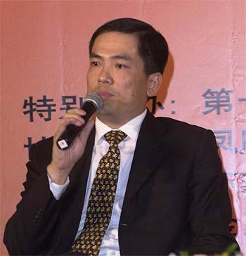 """图文:孙振耀在""""企业技术与管理创新""""论坛上发言"""
