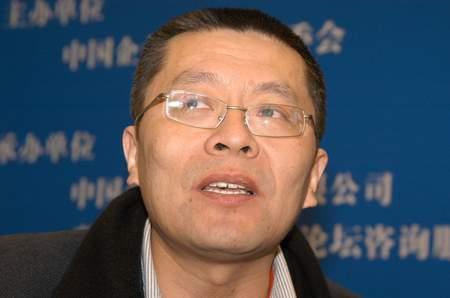 图文:万盟投资董事长王巍在论坛现场