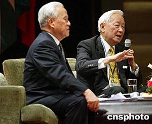 图文:张忠谋表示与大陆公司既竞争又合作