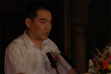 图文:媒体评委代表财讯传媒执行董事杨浪先生