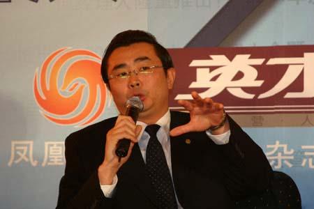 图文:清华紫光股份公司总裁李志强在现场发言