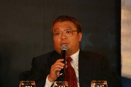 图文:思科系统(中国)总裁杜家滨在发言