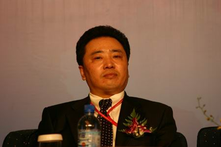 图:青岛啤酒集团公司总裁金志国