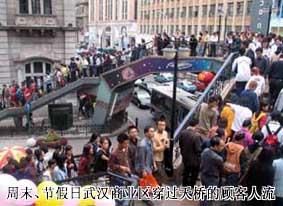 武汉商业真正的争夺在超市