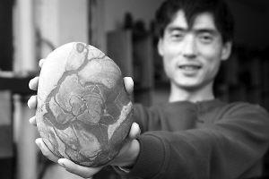 韩国人重庆倒三峡石 稍加包装就获利三四倍(图)  - 老金 - Suiseki——静远