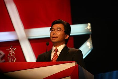 上海通用汽车有限公司总经理丁磊发表获奖感言