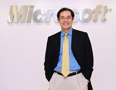 微软大中华区首席执行官陈永正简介