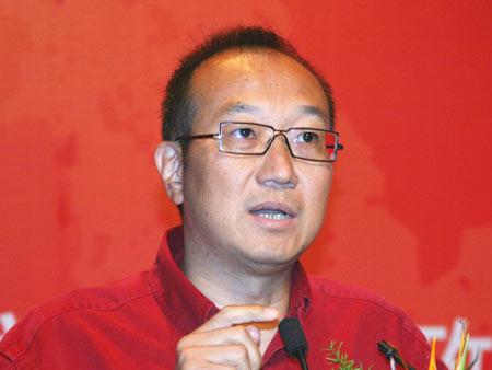 图文:万通集团董事局主席冯仑发言