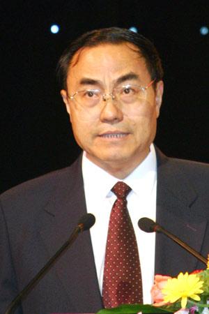图文:陕西省副省长潘连生发言