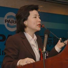 图文:亚盛投资公司总裁毛区健丽女士