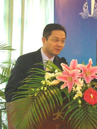 图文:香港贸发局服务业拓展高级经理邓正威