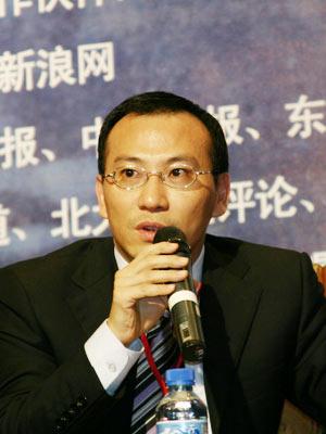 图文:东方企业家执行主编张良发言