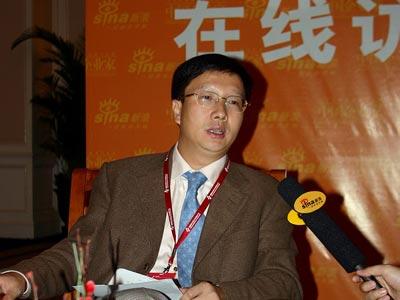 图文:深圳水务董事长黄传奇参加新浪在线访谈