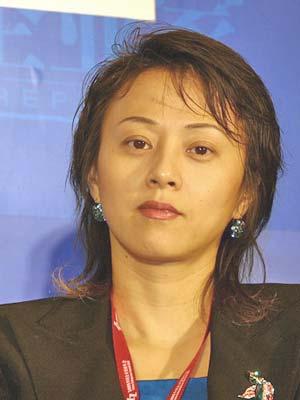 图文:维亚康姆公司中国区总裁李亦非