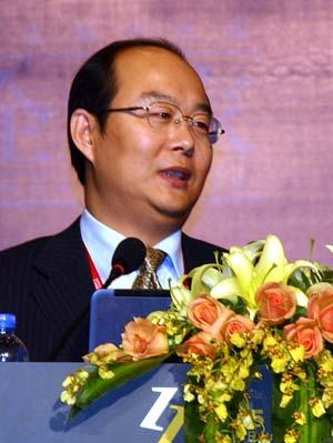 图文:中国企业家杂志社长刘东华
