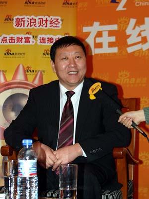 图文:蒙牛乳业集团股份有限公司董事长牛根生
