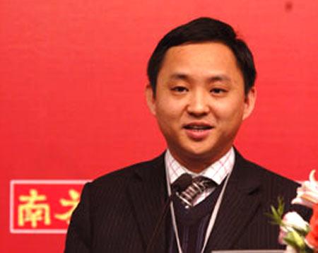 图文:NBA中国商务拓展总监黎宇辉主题演讲