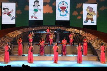 中国品牌园地的花蕾国际文化市场的奇芭