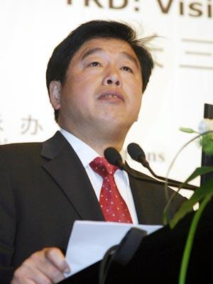 图文:上海市副市长胡延照发言