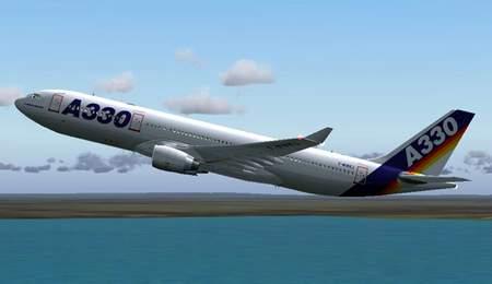 资料图片:南航引进的空客a330宽体客机(三)图片