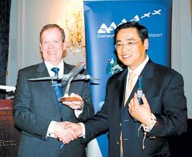 海航将开通北京至日内瓦航线