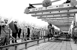 北京机场轨道线上午铺轨预计11月30日全线轨通
