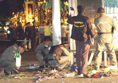 新年前夕连环爆炸袭击曼谷泰国股市大幅下挫