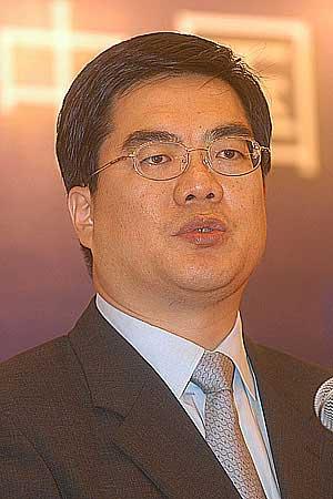 图文:中石化董秘局副主任黄文生在发言