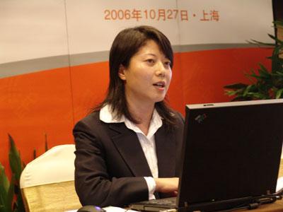 精彩图片:上海交易所高级执行经理夏雪