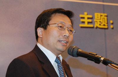 图文:美国大通前中国区主管肖伟忠演讲