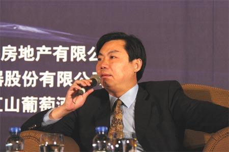 图文:上海通用汽车有限公司总经理陈虹先生