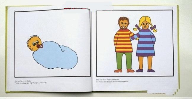 看看吧,德国怎么给小学生进行性教育!(7P)