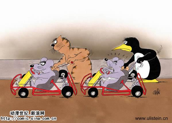 搞笑动物运动会
