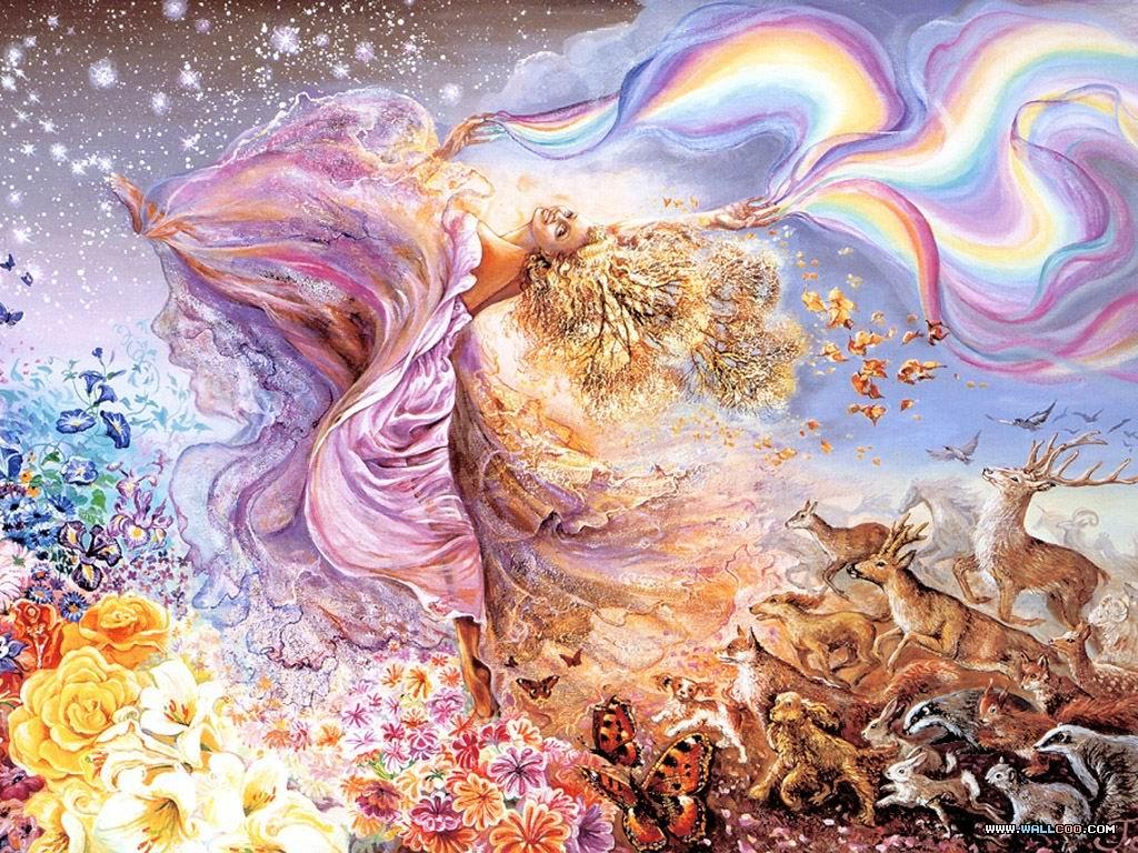 欧美科幻 大地的女神 奇幻系列壁纸