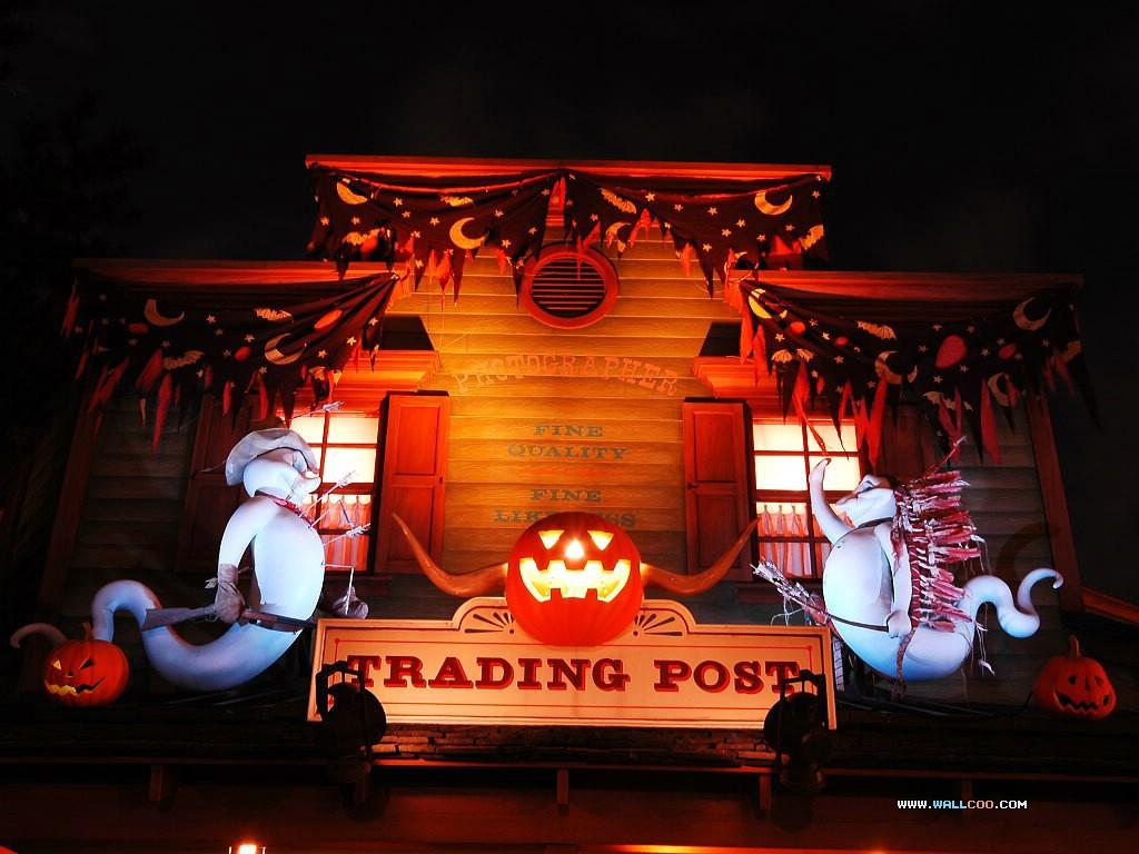 迪斯尼乐园的万圣节活动精彩壁纸 18