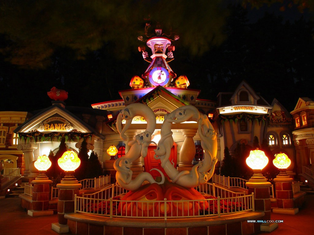 迪斯尼乐园的万圣节活动精彩壁纸 41