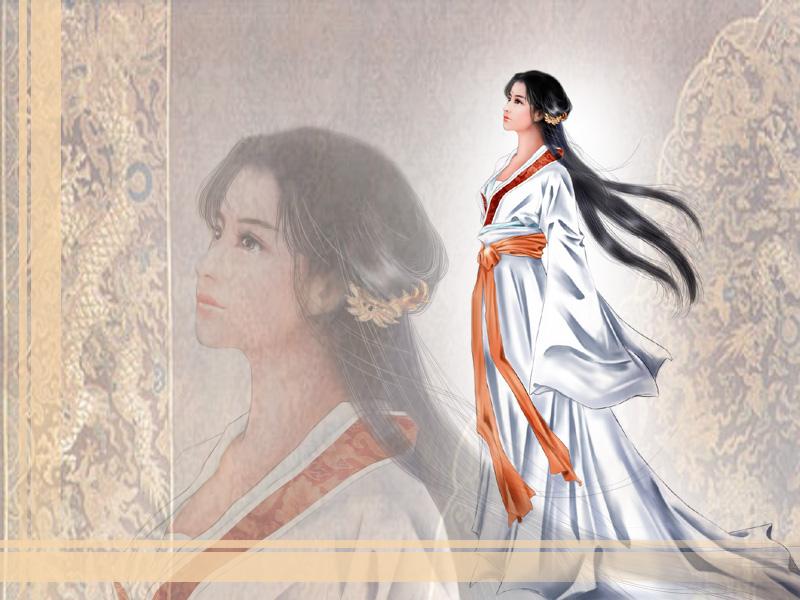 中国古典美女壁纸4