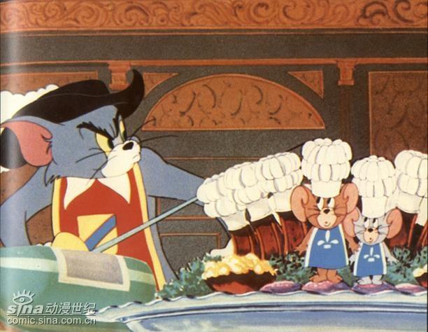 美国动画片《猫和老鼠》精彩图片