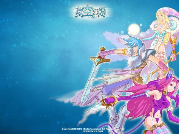 《星空幻想》游戏可爱人物壁纸(4)