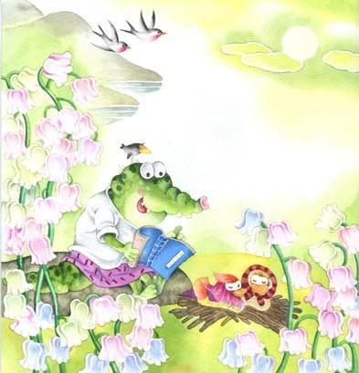 [贴图]手绘儿童插画 - 搜狐社区